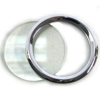 Threaded bezel kit for Smiths chronometric speedometers and tachometers