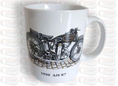 1930 AJS R7 Mug