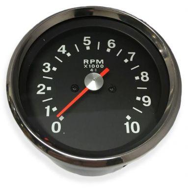 Tachometer Black Face Ratio 4  - 1