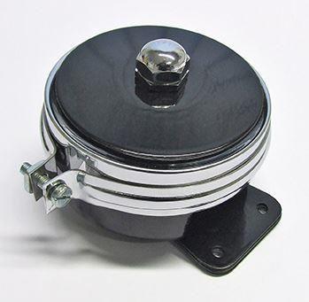 Lucas Type HF1441 12 Volt Horn With Chrome Band