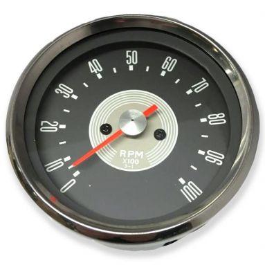 Tachometer Grey Face Ration 3-1