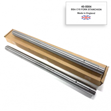 BSA C15 Fork Stanchions OEM: 40-5004