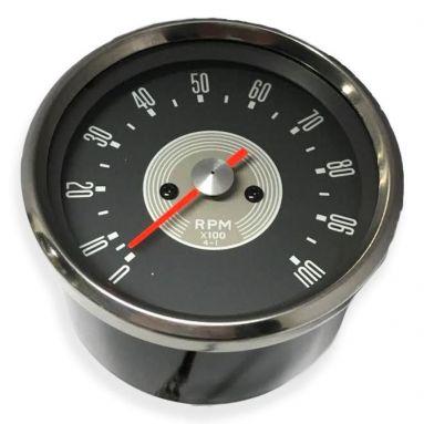 Tachometer Grey Face Ration 4 - 1