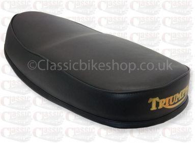 Dual Seat, Black Top - Triumph Bathtub 3TA/5TA/T100A 1957-66