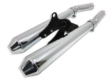 Triumph T100 Bonneville silencer kit