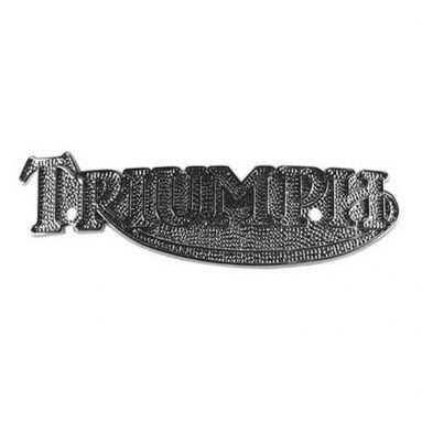 Triumph metal tank badges, T140, T160 1978-On (Pair)