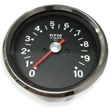 Tachometer Black Face Ratio 3 - 1