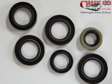 BSA Bantam D10 D14 Engine/Gearbox Oil Seal Set