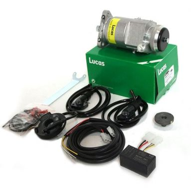 Genuine Lucas K2F Ignition housing and electronic ignition kit MK1