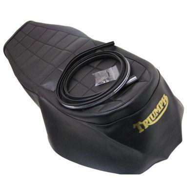 Triumph T140 D/ T140 Electric Start/ Tss 8 Valve Uk Seat Cover