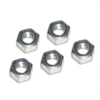 "Hexagonal Nuts 1/4"" CEI 26 TPI"