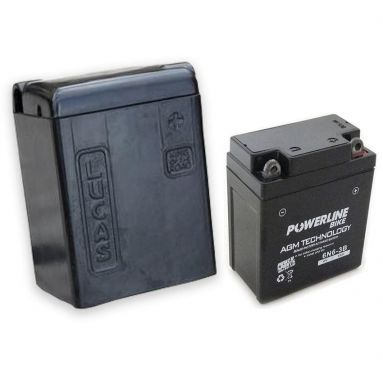 Lucas 'King Of The Road' Battery Case with 6V Battery