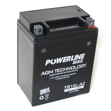 12V 14AH AGM Battery YB14L-A2