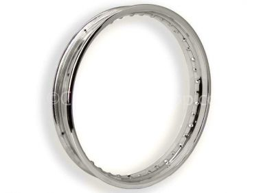 WM2 X 19 Stainless Steel Wheel Rim For Triumph TR7/ T140 and T160 models.