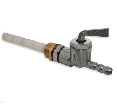 Fuel Tap 0n Off Resurve c/w Adaptor 1/4'' x 3/8''