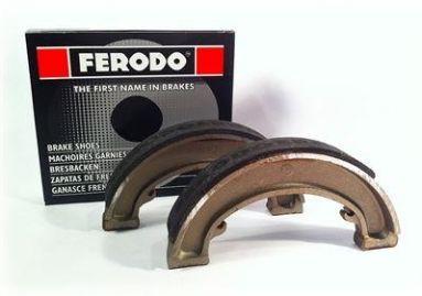 "Ferodo Brake Shoes FSB924 BSA 7"" Single Sided Front Hub & QD Rear Hub"
