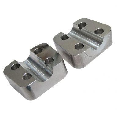 Triumph/ BSA Conical Hub Fork Axle Caps/ Billet Alloy