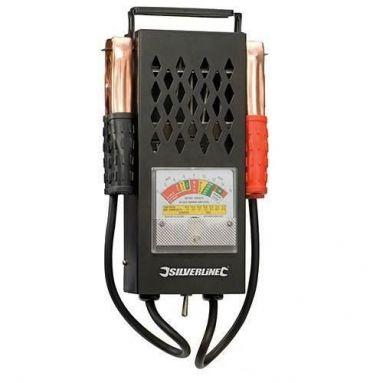 Battery & Charging System Tester 6V & 12V