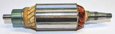 6 Volt Long Type 188mm/ Miller Dynamo Armature