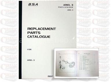 BSA Ariel 3 Parts Book