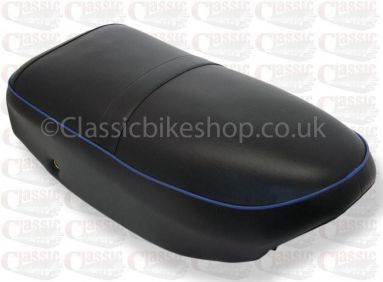 AJS Singles and Twins 1956-60 Seat Blue Piping