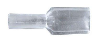 Clear Insulator Sleave For 6.3mm Spade Terminal/ 10 in Pack