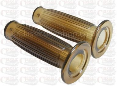 1'' inch brown grips