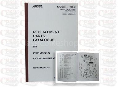 Ariel 1952 Square 4,4G Parts Book