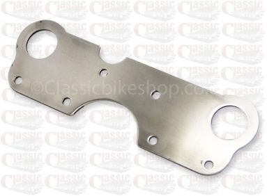 BSA A10 RGS/Gold Star Speedo and Rev Counter Mounting Stainless Steel