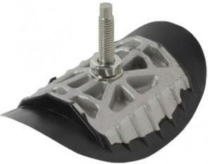 Rubber and alloy security bolt WM2 1.85 Rim
