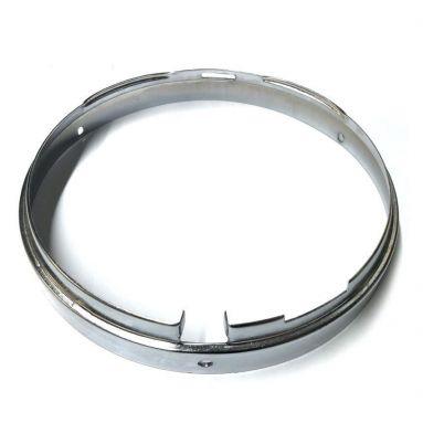 """Chrome 7"""" Inner Headlamp Rim for models with Nacelle."""