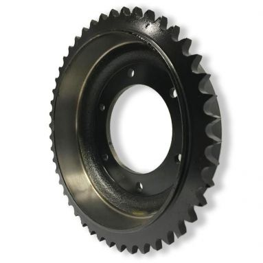 BSA B40/SS90 1961-65 Rear Brake Drum and Sprocket 46T 41-6010