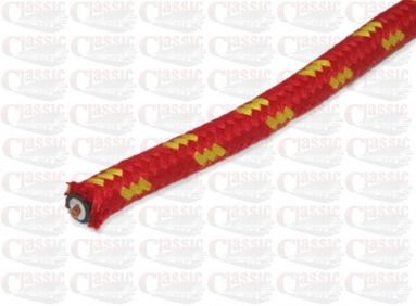 Red with Yellow Fleck Copper Cored HT Lead