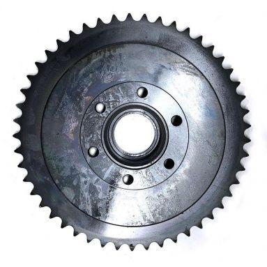 BSA A7 A10 Rear Wheel drum and Sprocket 49T 67-6124