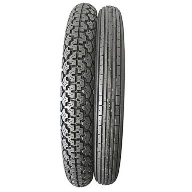 Classic Motorcycle Tyres / Front 3.25 x 19 / Rear 3.50 x 19 -57s