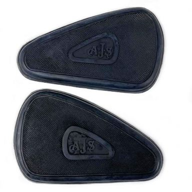 AJS Knee Grips for heavyweight singles and twins 1937-56 01-1007, 01-1008