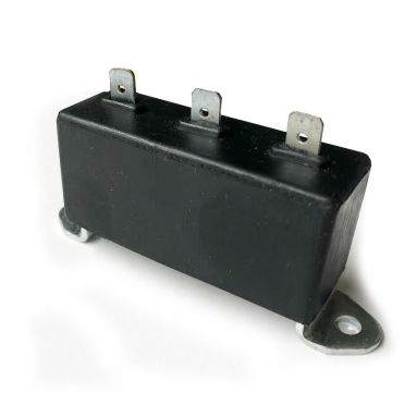 Condenser Pack With Rubber Cover Triumph BSA Triples