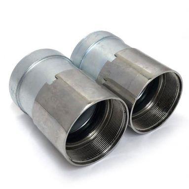 BSA C15 Fork Oil Seal Holder with Seals 40-5013, 40-5139, 40-5049