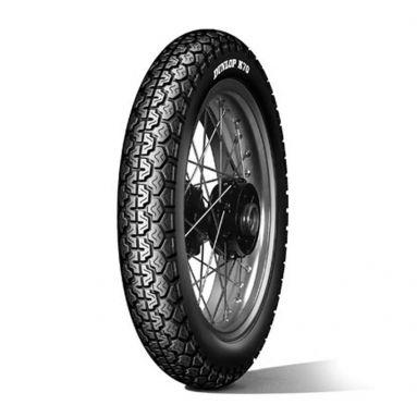 Dunlop K70 3.50 - 19 57P Rear/Front Wheel