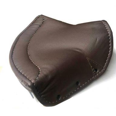 Large Brown Single Saddle Seat Cover