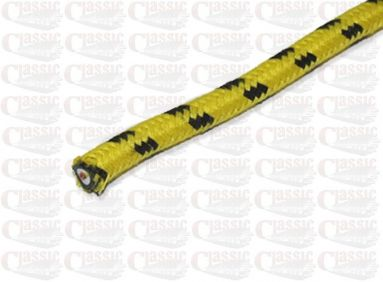 Yellow with Black Fleck Copper Cored HT Lead