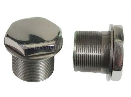 Norton Commando Fork Top Nuts 06-3045