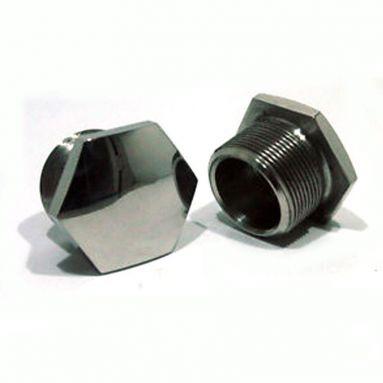 BSA A10 A65 M21 Chrome fork top nuts