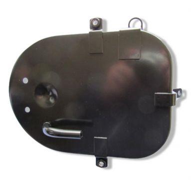 Norton Commando Air Filter Back Plate.