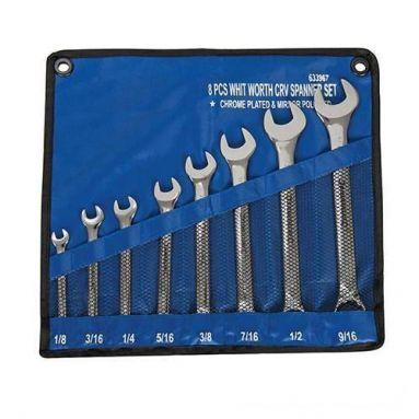 Whitworth 8 Piece Spanner Set