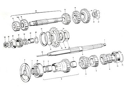 Triumph T140 Gearbox Spare Parts