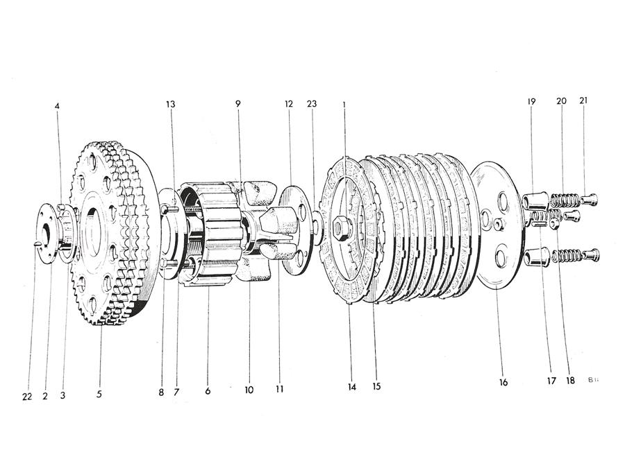 Triumph T140 Clutch Spare Parts