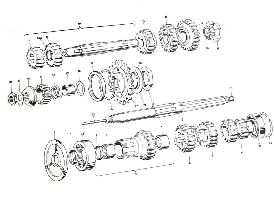 Triumph T140 Gearbox