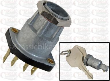 Lucas 30608 Ignition switch barrel with lock and keys