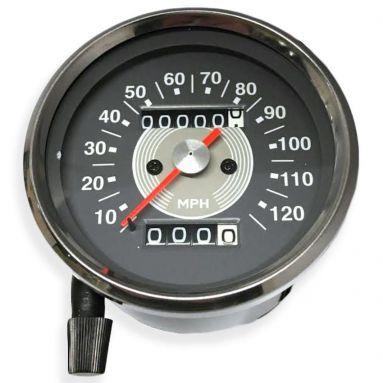 Speedometer Grey Face (MPH) Ratio 2 - 1